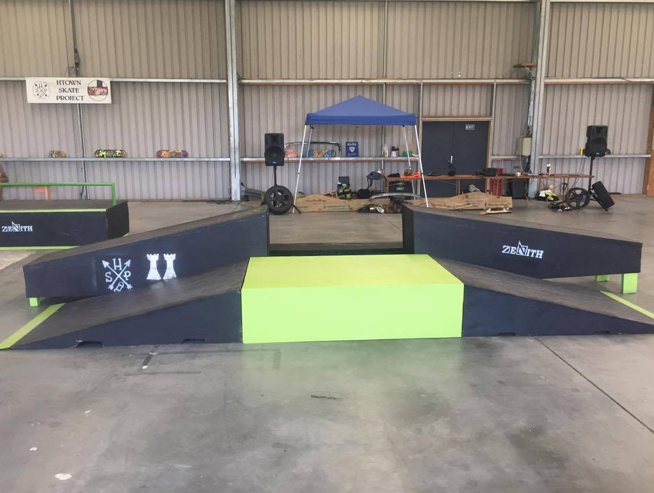Autofest Skate Comp Sponsorship Zenith Projects
